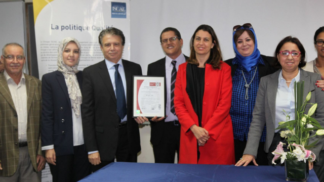 ISCAE Certification ISO 4