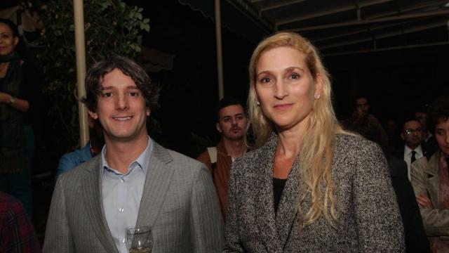 Andy Halus,directeur de Dar America et Nicole Theriot,consul general USA a casablanca