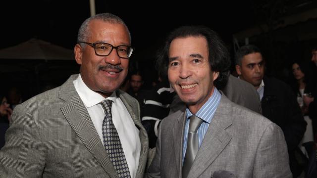 Dwight Bush, l'ambassadeur des Etats-Unis au Maroc et Naim Chemaou El Fihri