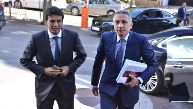 Moulay Hafid Alami et Mamoun Bouhadhoud,