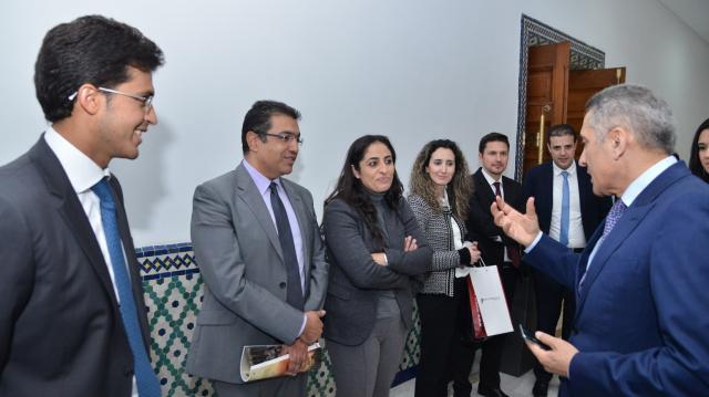 moulay hafid alami avec l'équipe AMDI