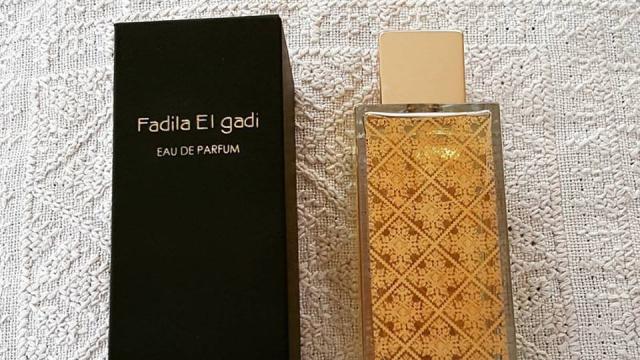 Fadila El Gadi lance son parfum