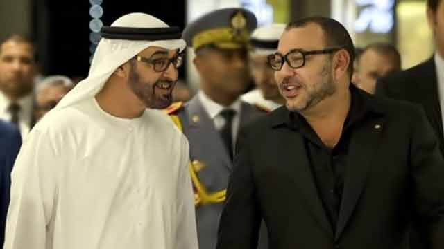 Cheikh Mohammed Bin Zayed Al-Nahyan et roi