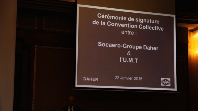Convention collective Socaero-Daher et l'UMT3