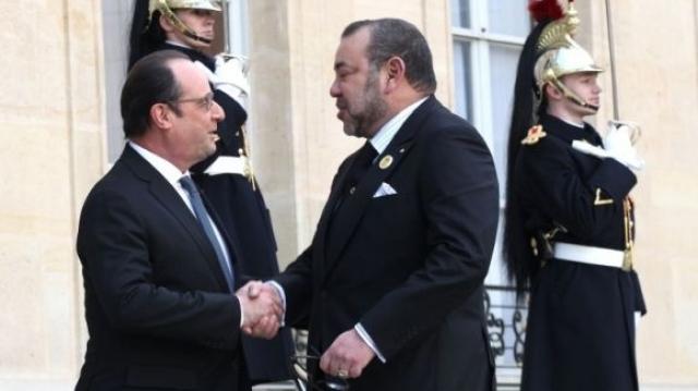 mohamed 6 rencontre hollande Rencontre du roi mohammed vi avec le président hollande en images entretien entre les deux chefs d'etat à l'elysée le déjeuner entre le roi mohammed vi.