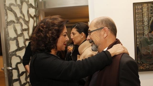 Aicha AMor et Denis Germain