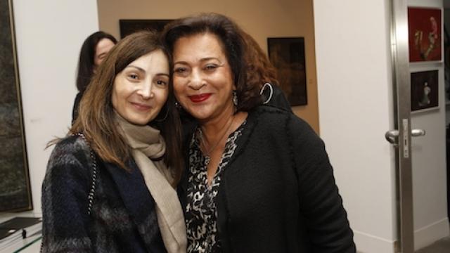 Meriem Bouazzaoui et Aicha Amor