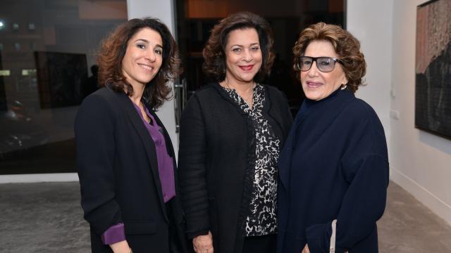 de gauche à droite, Nadai Amor, Aicha Amor et Zahra Ouazzani