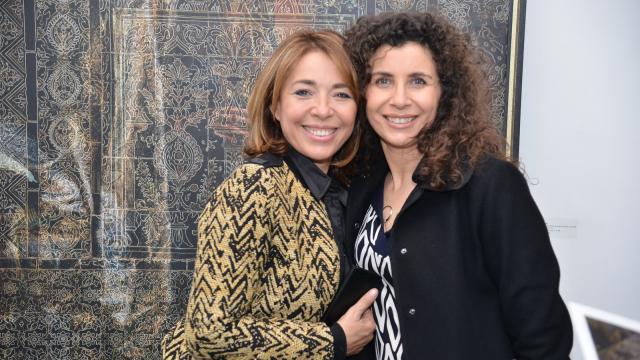 Wassila Ibrahimi et Mouna Bensaid