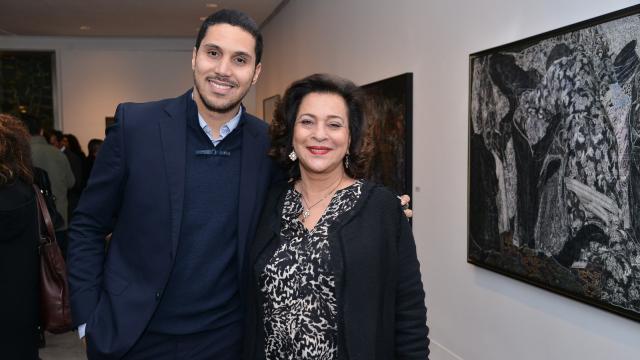 Othman Alami Lazrak et Aicha Amor