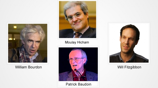 Moulay Hicham - Will Fitzgibbon - Patrick Baudouin - William Bourdon 2016