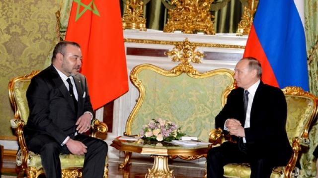 Entretien Roi et Poutine