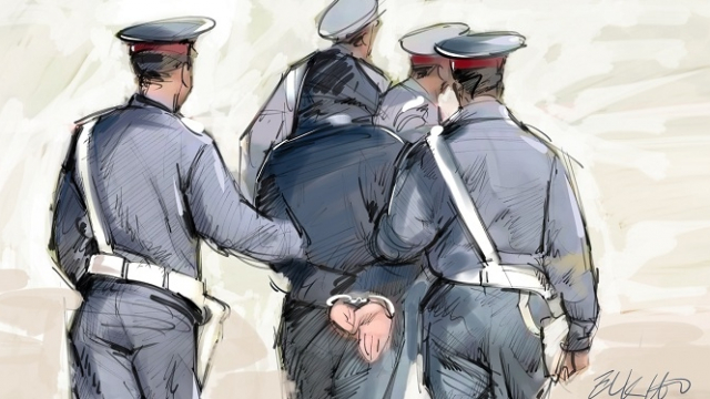 Arrestation-dessin