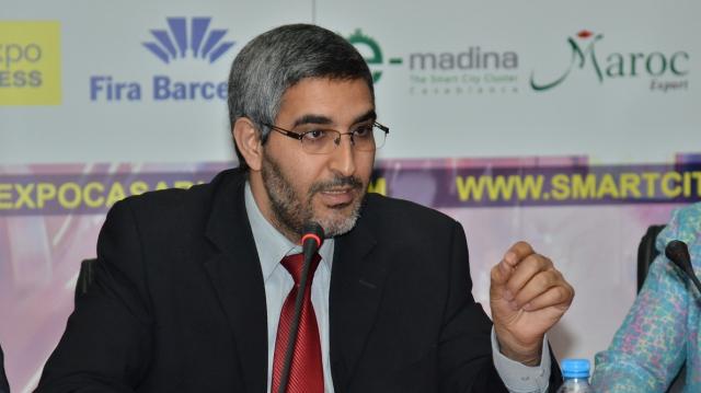 abdelaziz Omari président du consiel de la ville