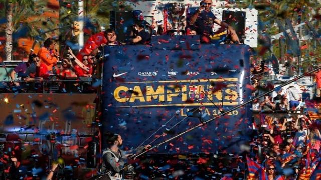 Barça champion