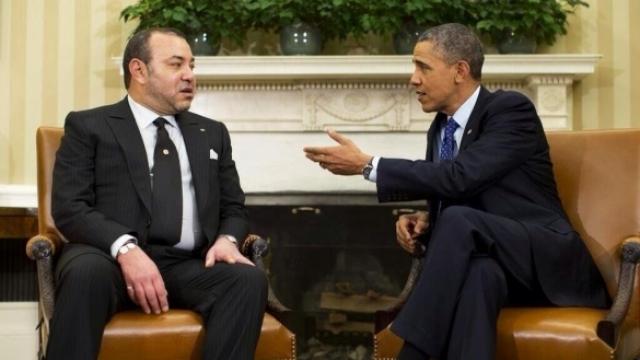Mohammed VI-Obama