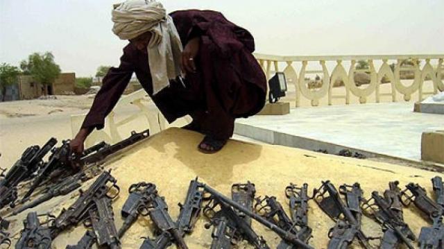 armes touaregs