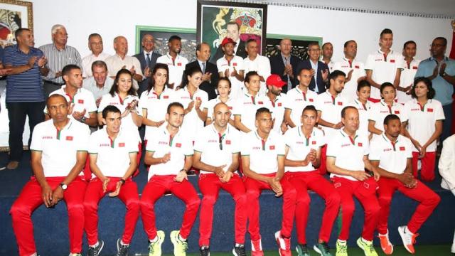 Réception-Athlètes marocains qualifiés aux JO11