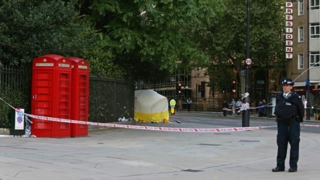 Attaque couteau Londres