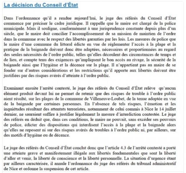décision conseil d'Etat 2