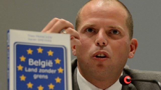 Le secrétaire d'État belge à l'Asile et la Migration, Theo Francken