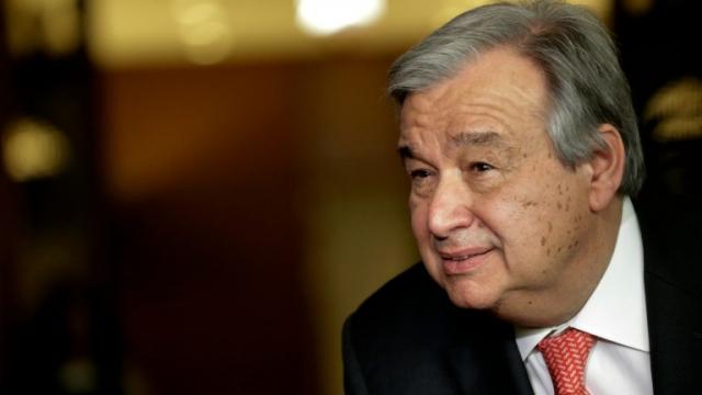 Portugais Antonio Guterres
