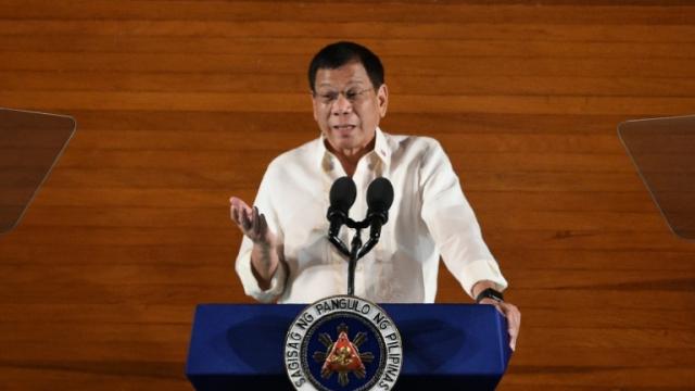 président philippin Rodrigo Duterte