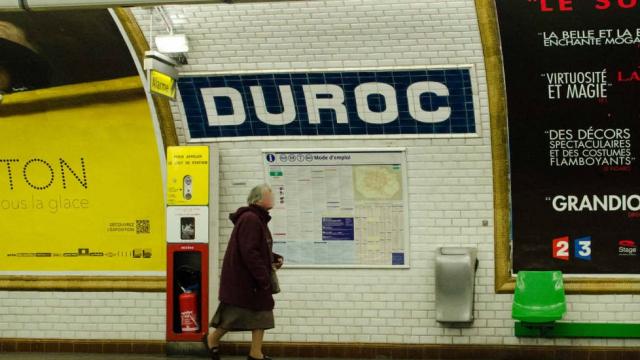 Quoai du métro parisien