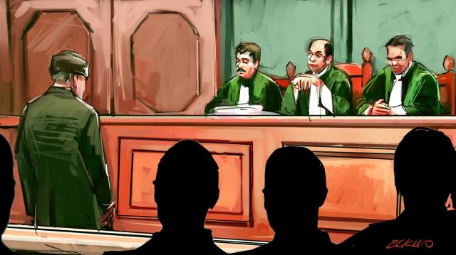 Tribunal dessin