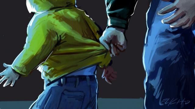 Agression pédophilie dessin