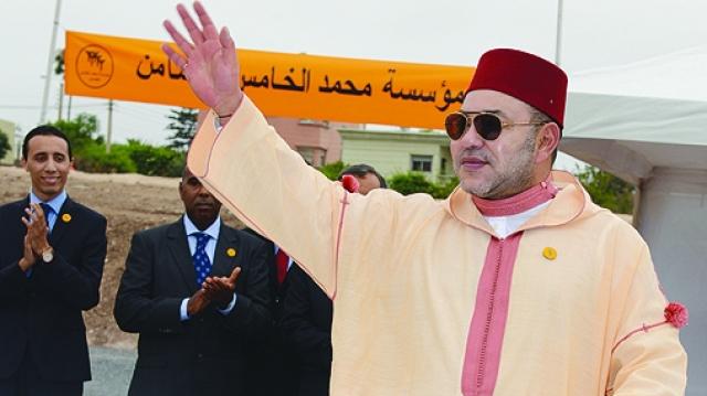 Le roi lance Tanger Metropole
