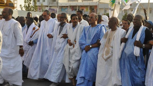 marche de l'opposition mauritanienne