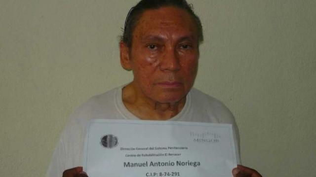 Noriega hospitalisé