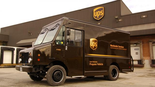 UPS messagerie