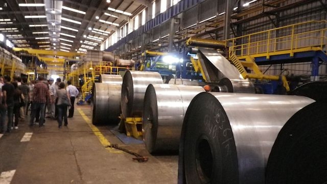 usine metallurgie
