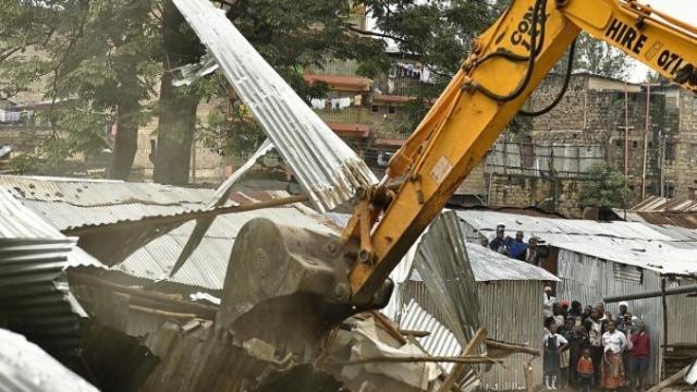 démolition de maisons du Nigeria