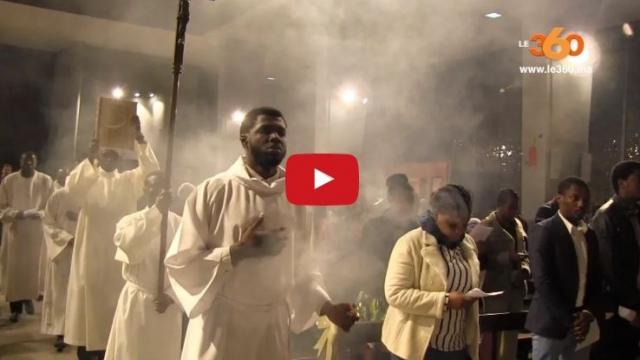 Les chrétiens de Casablanca fêtent la Noël
