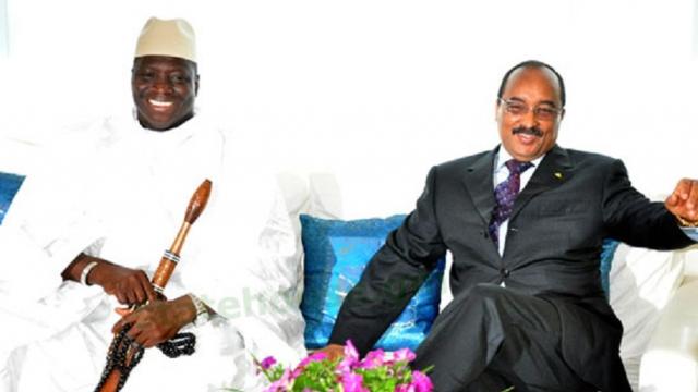 Mauritanie Gambie Aziz joue la carte Jammeh