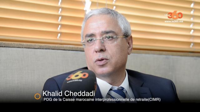 cover video- Khalid Cheddadi, PDG de la Caisse marocaine interprofessionnelle de retraite(CIMR)