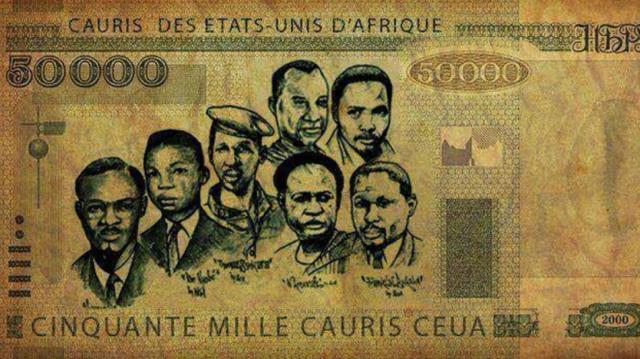 Monnaie des Etat Unis d'Afrique