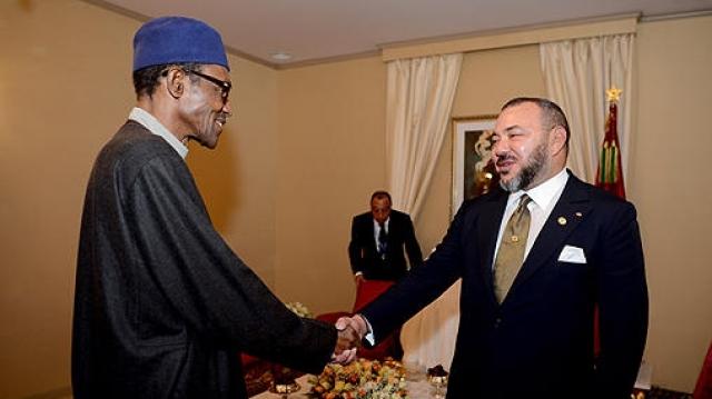 Mohammed VI et Buhari