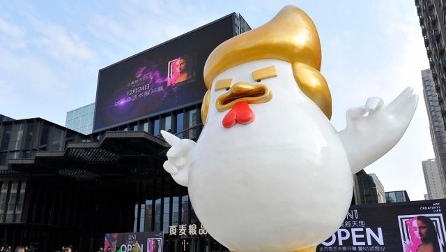 Trump en poulet