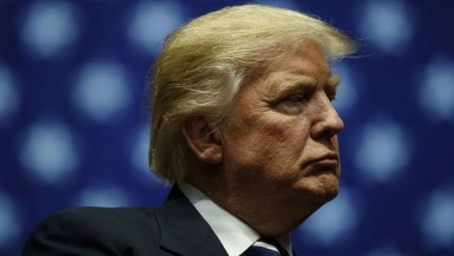 Trump moue