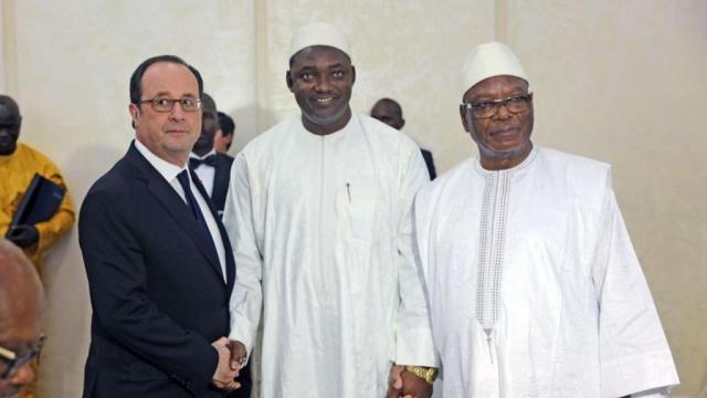 Gambie: le Sénégal ne veut pas fâcher son voisin gambien, malgré l'accueil d'Adama Barrow
