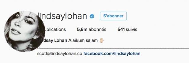 lindsay lohan instagram