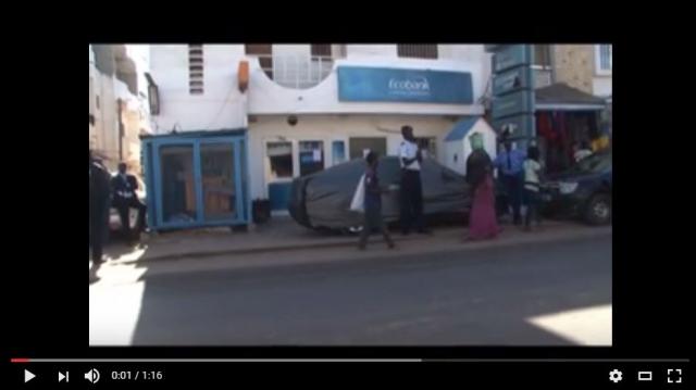 Vidéo. Sénégal: deux braquages de banque en moins de 15 jours