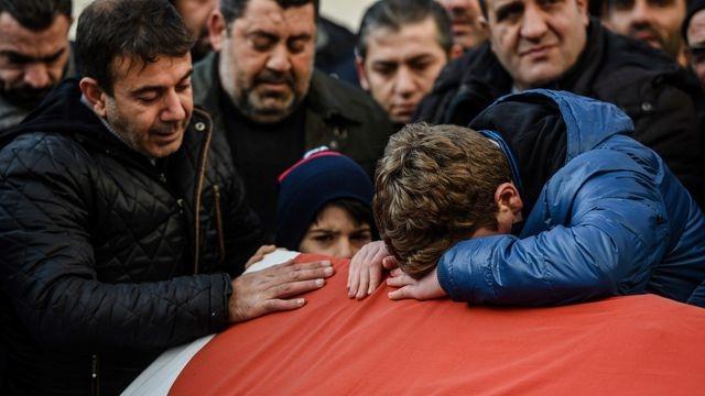 Funérailles Istambul