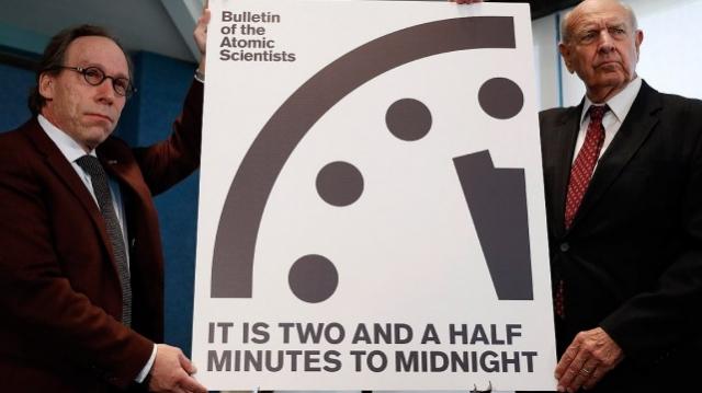 Horloge apocalypse