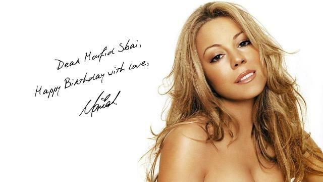 Mariah Carey Souhaite Un Joyeux Anniversaire A Un Manager Marocain