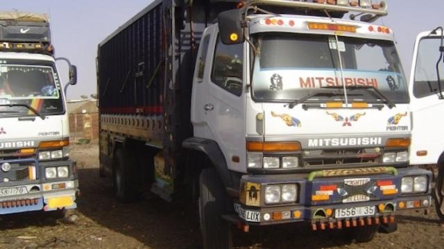 camions de transport
